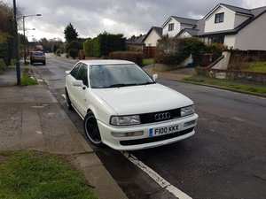 1988  Audi Coupe Quattro for auction 29th-30th October