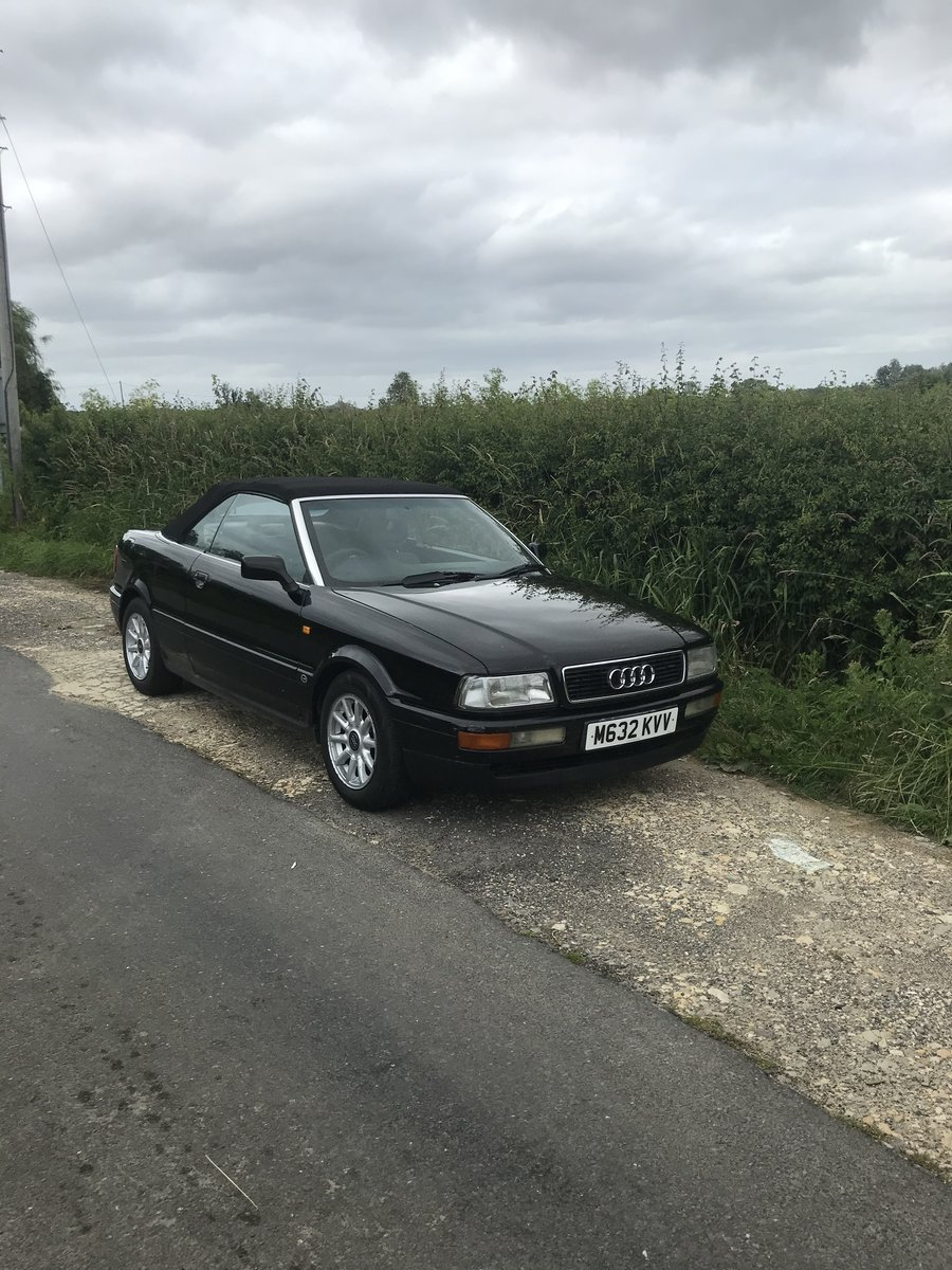 1995 Audi 80 SOLD (picture 1 of 6)