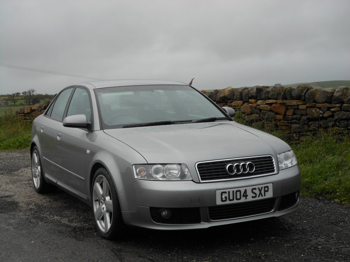 2004 Audi A4 1.8T 190BHP 6SPD S-LINE 2 Former +FSH + 93K SOLD (picture 1 of 6)