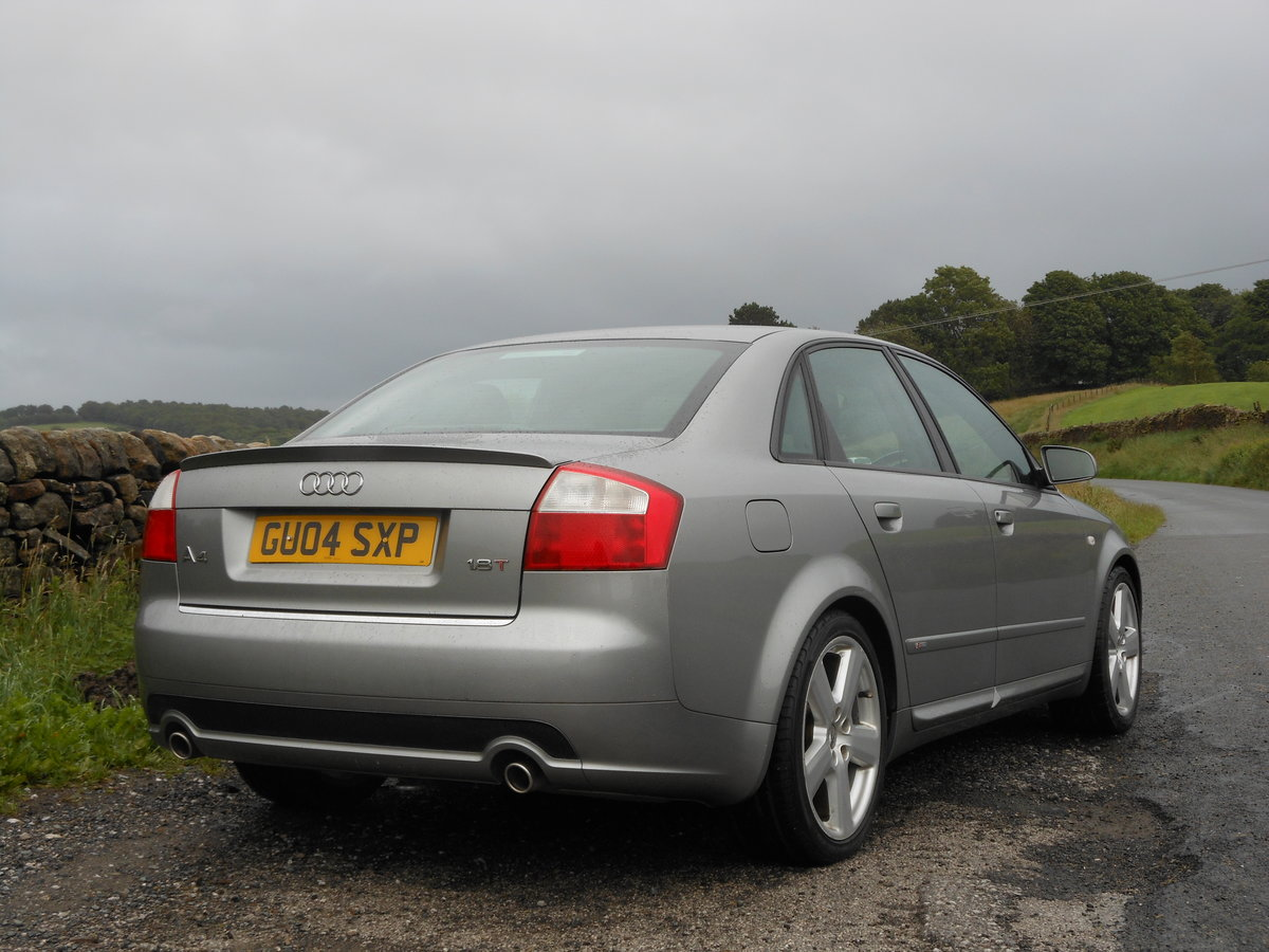 2004 Audi A4 1.8T 190BHP 6SPD S-LINE 2 Former +FSH + 93K SOLD (picture 2 of 6)