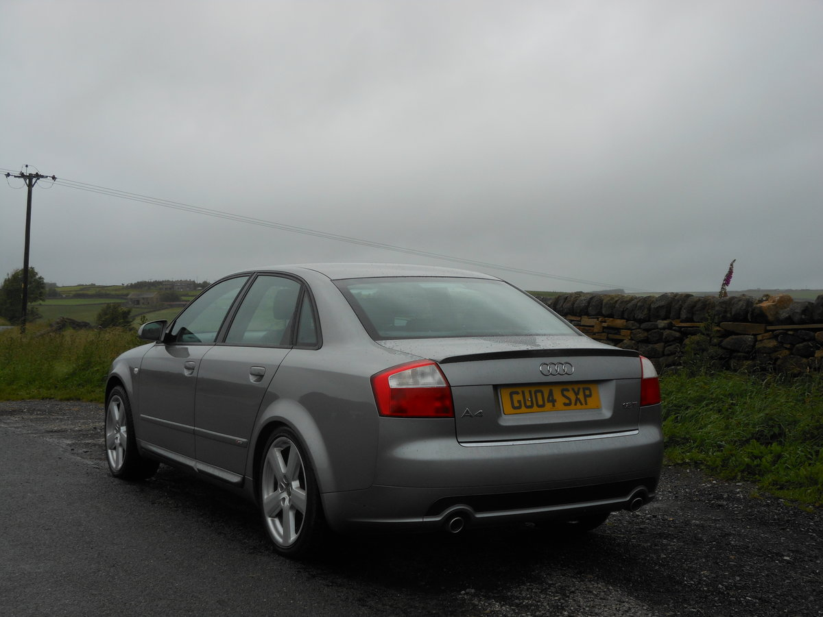 2004 Audi A4 1.8T 190BHP 6SPD S-LINE 2 Former +FSH + 93K SOLD (picture 3 of 6)