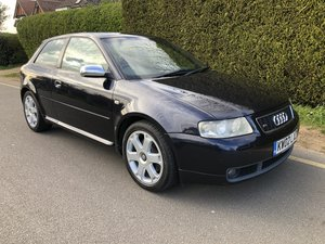 2002 S3 Completely standard and unmodified