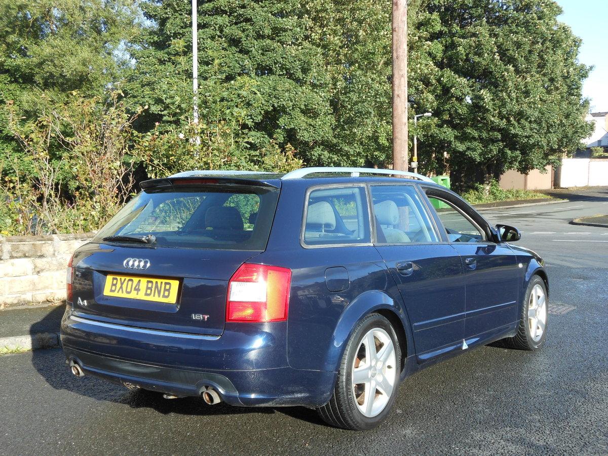 2004 Audi A4 1.8T 190BHP 6SPD SPORT AVANT +FSH SOLD (picture 2 of 6)