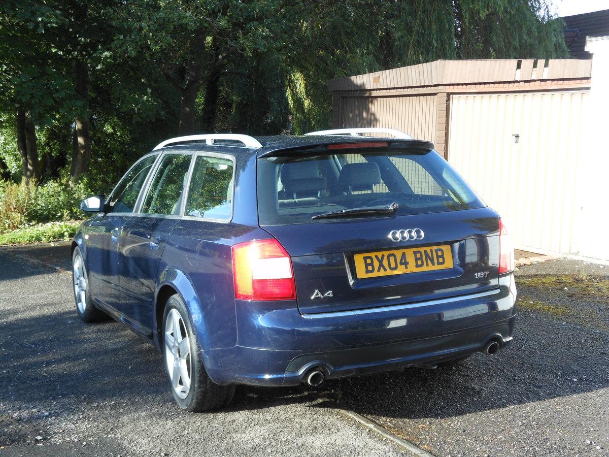 2004 Audi A4 1.8T 190BHP 6SPD SPORT AVANT +FSH SOLD (picture 3 of 6)