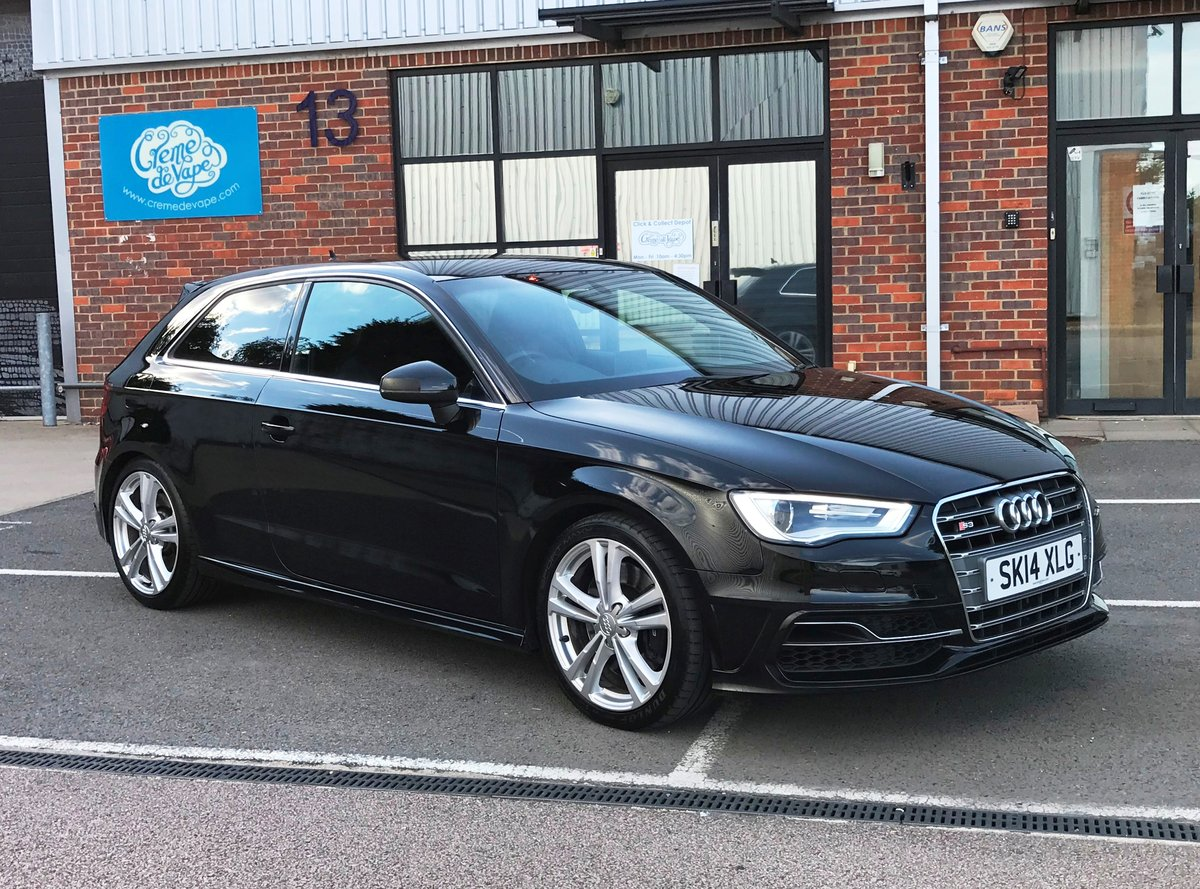 2014 AUDI S3 2.0 TFSI QUATTRO 3dr FSH+18's+CRUISE+B&O For Sale (picture 1 of 6)