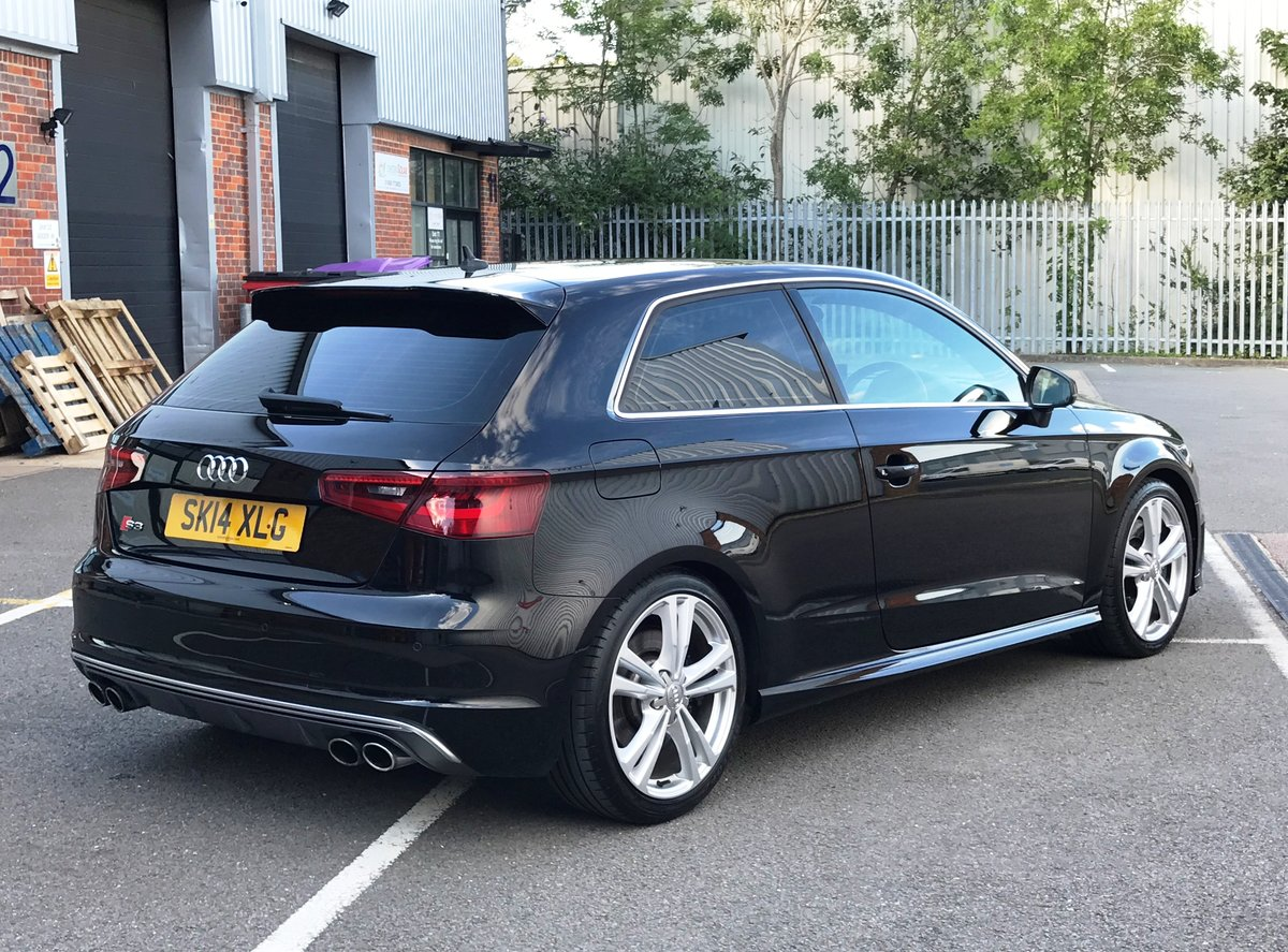 2014 AUDI S3 2.0 TFSI QUATTRO 3dr FSH+18's+CRUISE+B&O For Sale (picture 2 of 6)