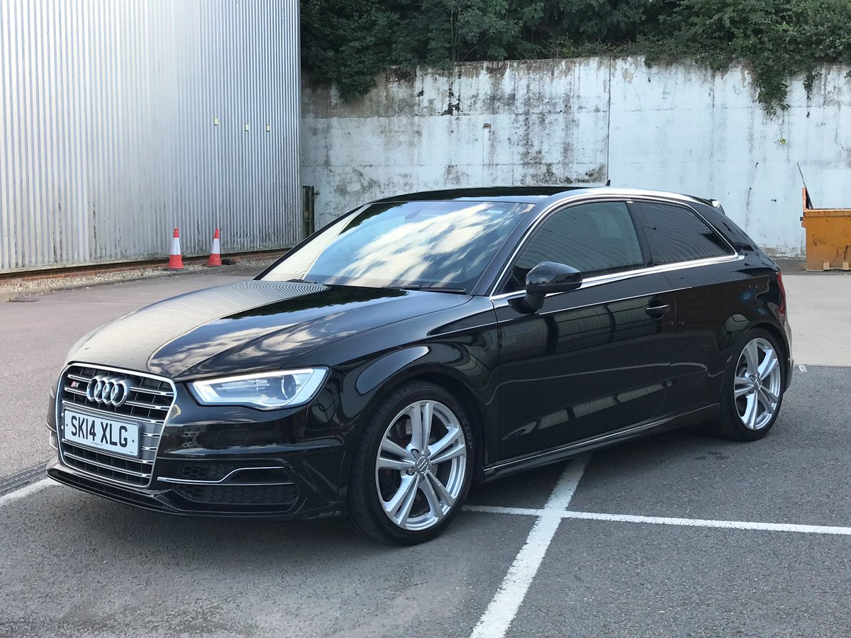 2014 AUDI S3 2.0 TFSI QUATTRO 3dr FSH+18's+CRUISE+B&O For Sale (picture 3 of 6)