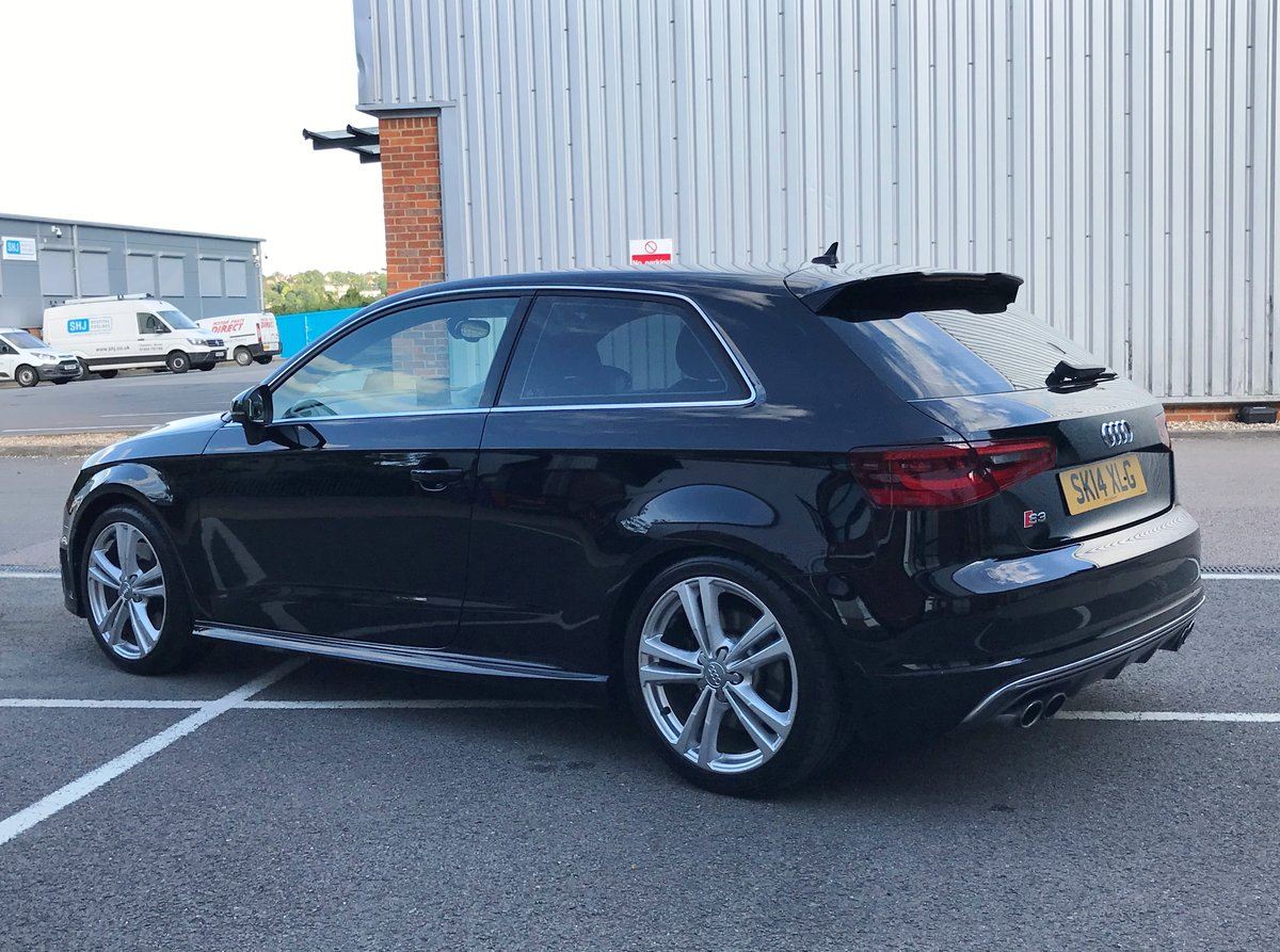 2014 AUDI S3 2.0 TFSI QUATTRO 3dr FSH+18's+CRUISE+B&O For Sale (picture 4 of 6)