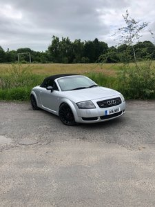 Audi TT Roadster With mods