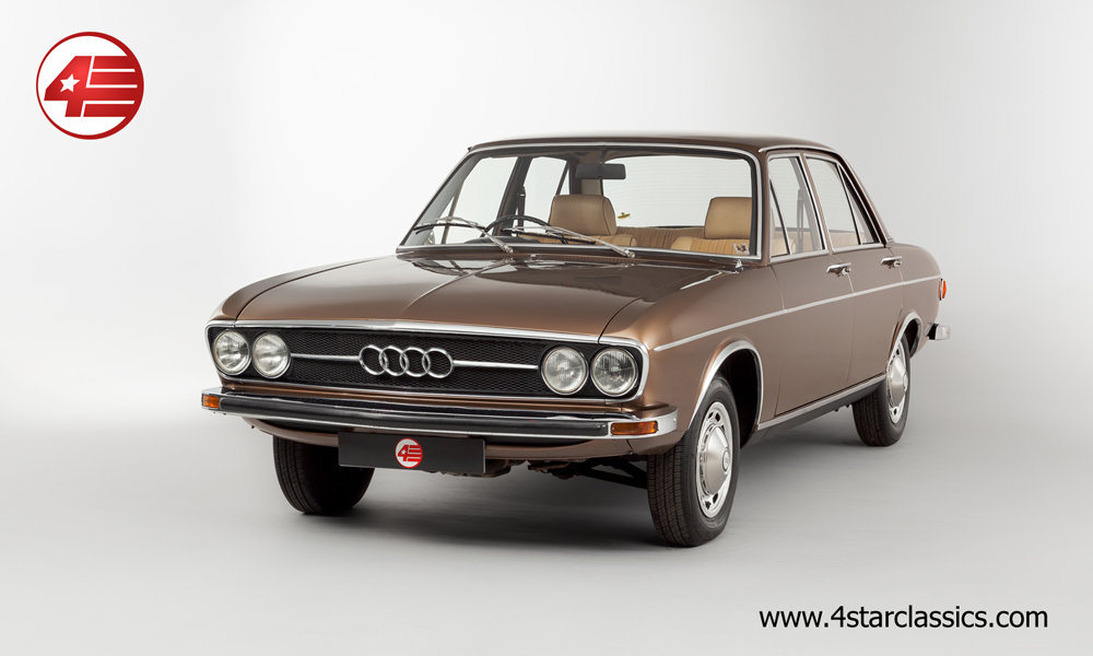 1973 Audi 100 GL /// Just 38k Miles From New! For Sale (picture 1 of 6)