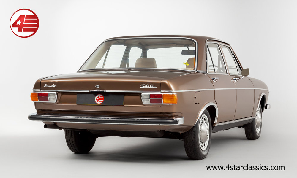 1973 Audi 100 GL /// Just 38k Miles From New! For Sale (picture 3 of 6)