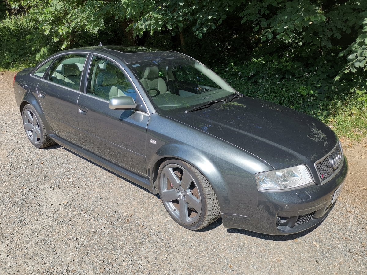 2004 RS6 C4 Saloon FSH (15 Stamps) For Sale (picture 1 of 6)