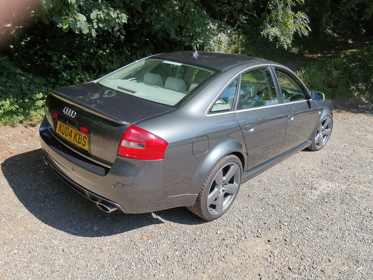 2004 RS6 C4 Saloon FSH (15 Stamps) For Sale (picture 2 of 6)