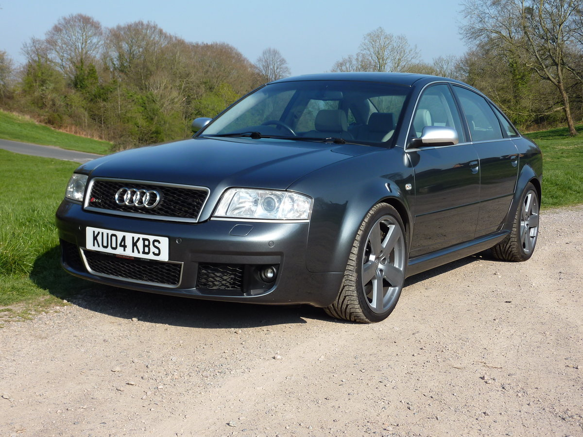 2004 RS6 C4 Saloon FSH (15 Stamps) For Sale (picture 5 of 6)