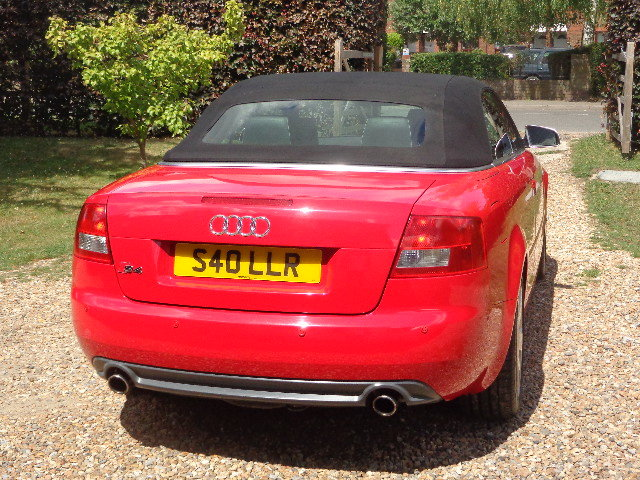 2004 Audi S4 Briiliant Red Manual Cabriolet SOLD (picture 5 of 6)
