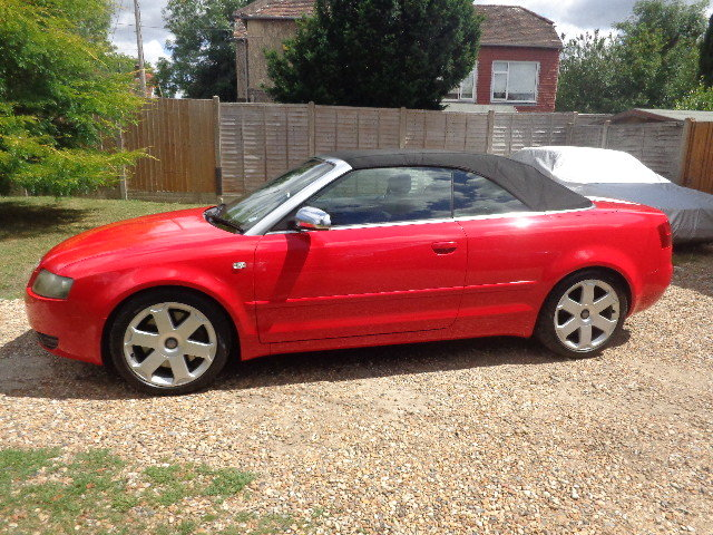 2004 Audi S4 Briiliant Red Manual Cabriolet SOLD (picture 6 of 6)