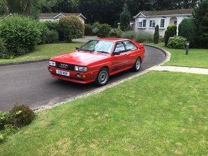 1986 Audi Quattro turbo  wr