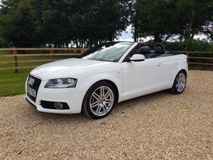 2012 Audi A3 2.0TDi Cabriolet S line S Tronic-34k, one owner
