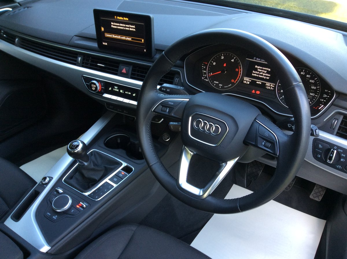 2016 Audi A4 SE Ultra Avant Tdi, Manual, Just 9,620 miles SOLD (picture 3 of 6)