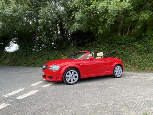 2005 55 AUDI TT 3.2 V6 MANUAL ROADSTER MISANO RED