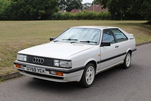 Picture of Audi Coupe Quattro 1987 - To be auctioned 30-10-20