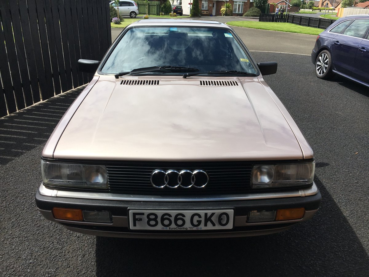1989 Audi Coupe GT (b type) For Sale (picture 4 of 6)