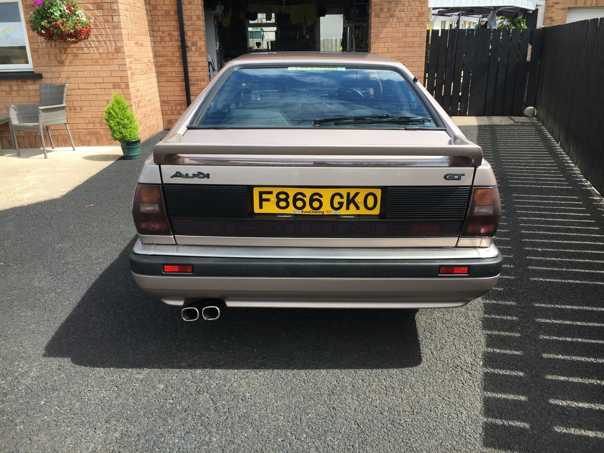 1989 Audi Coupe GT (b type) For Sale (picture 5 of 6)