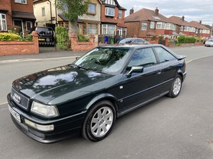 "Audi Coupe 2.6 manual S2/RS2 colour ""Ragusa Green"""