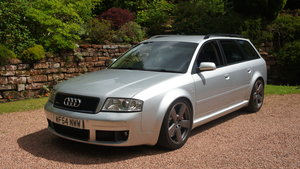 2004 Audi RS6 Quattro with excellent service history