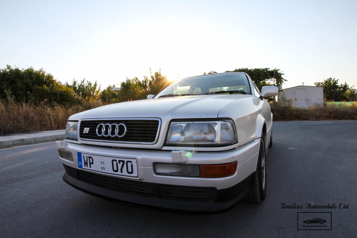 1989 Audi S2 Coupé Quattro - 24,440 miles - 3B 20V turbo I5 For Sale (picture 1 of 6)