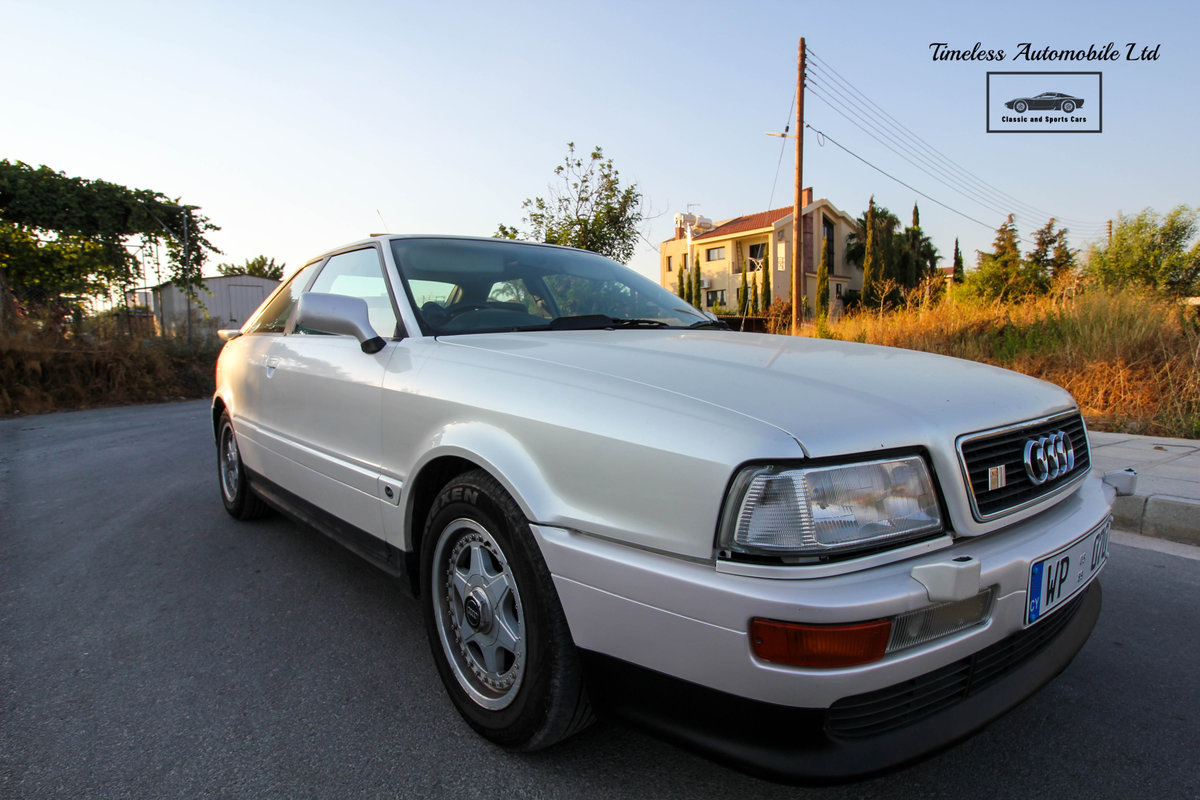 1989 Audi S2 Coupé Quattro - 24,440 miles - 3B 20V turbo I5 For Sale (picture 3 of 6)