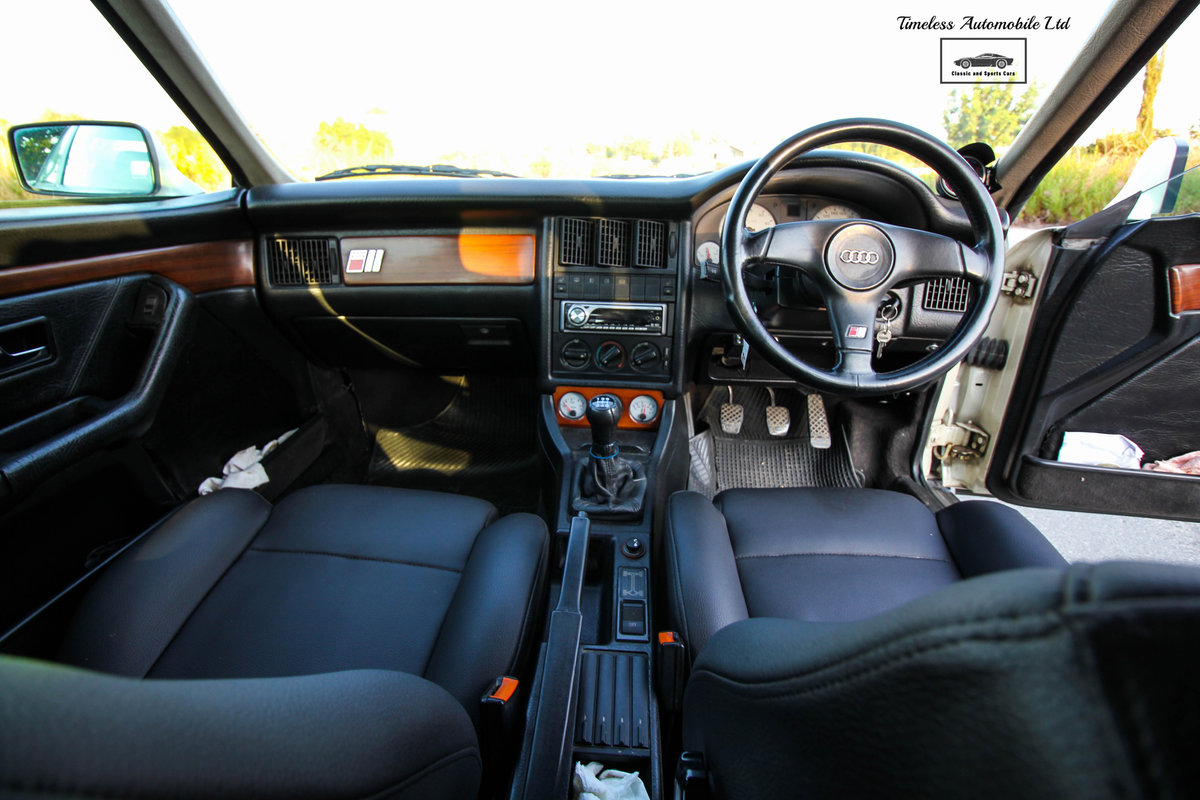 1989 Audi S2 Coupé Quattro - 24,440 miles - 3B 20V turbo I5 For Sale (picture 4 of 6)