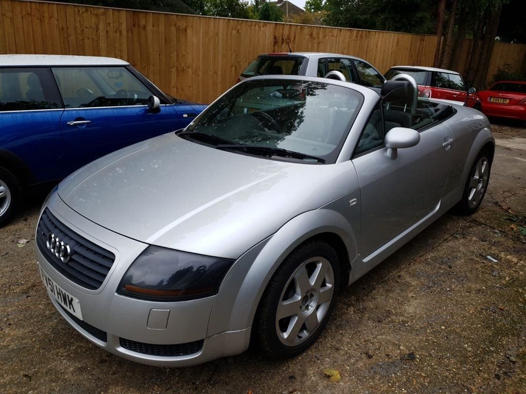 2002 Audi TT 1.8 T Roadster quattro 2dr For Sale (picture 2 of 3)