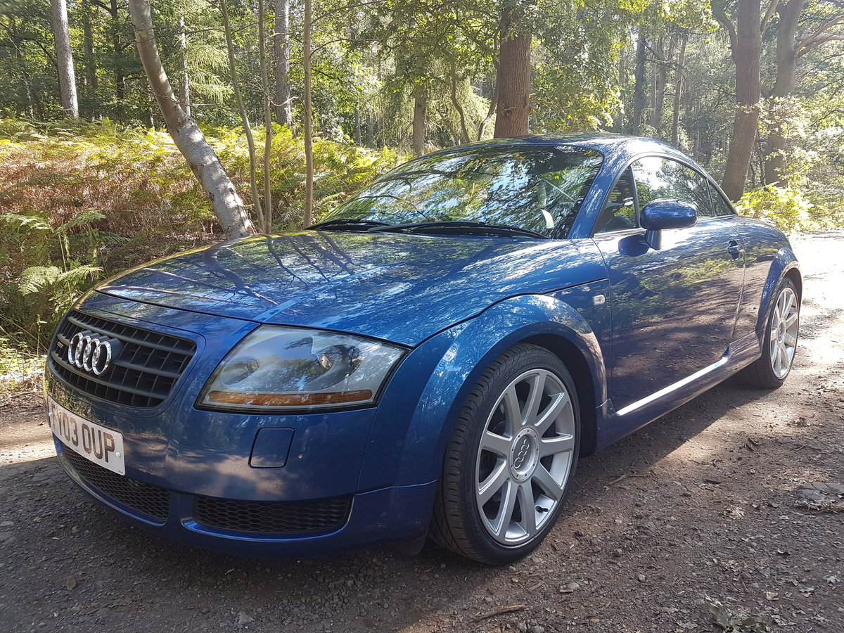 2003 Absolutely Stunning Audi TT 225 BAM 41000 miles For Sale (picture 1 of 5)