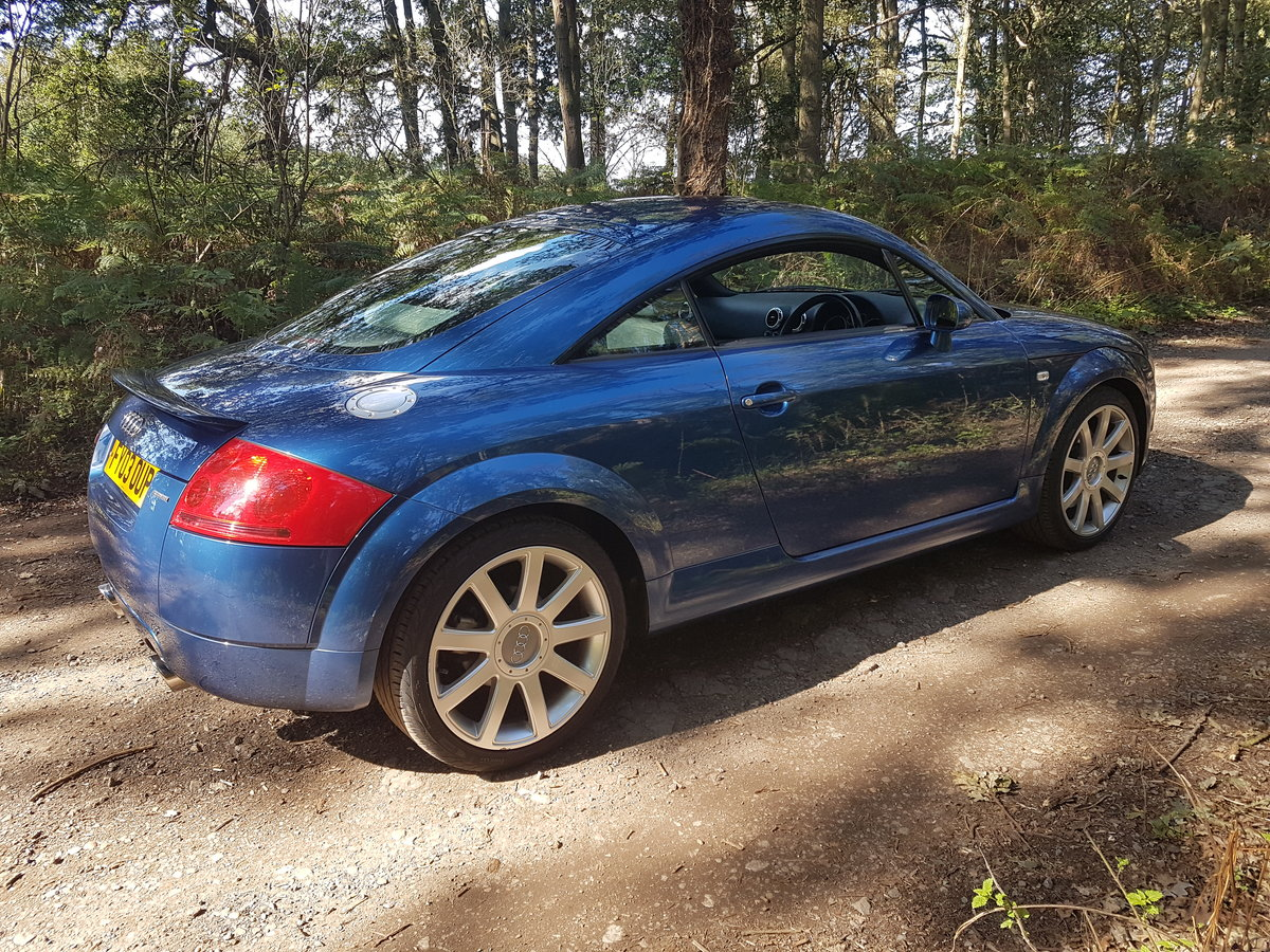 2003 Absolutely Stunning Audi TT 225 BAM 41000 miles For Sale (picture 2 of 5)