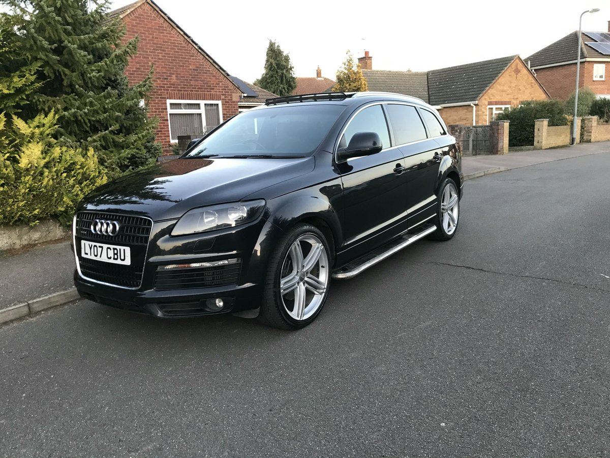 2007 Audi Q7 S line Tiptronic For Sale (picture 1 of 4)