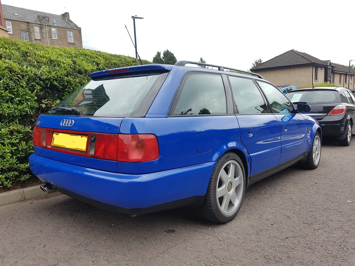 1997 Audi UrS6 Avant Manual Nogaro blue For Sale (picture 1 of 6)