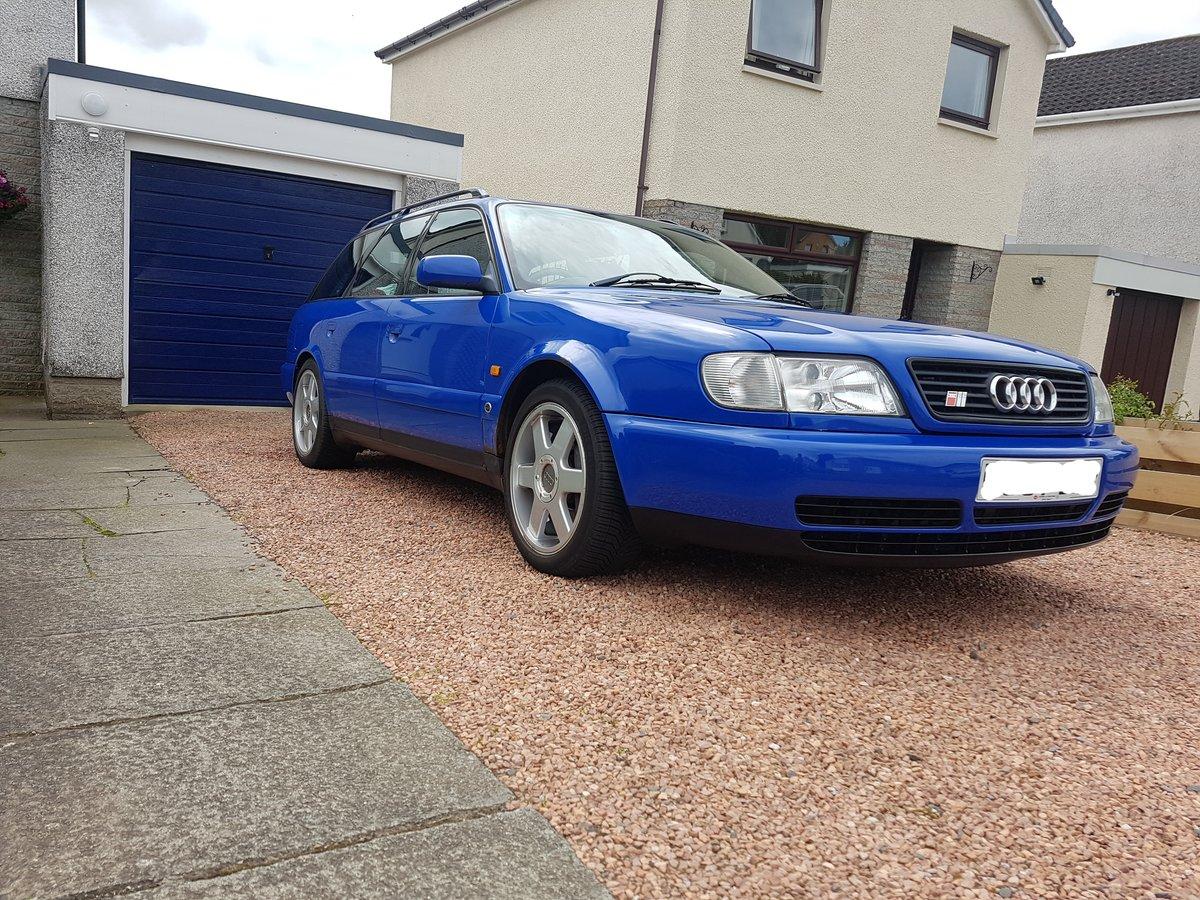 1997 Audi UrS6 Avant Manual Nogaro blue For Sale (picture 5 of 6)