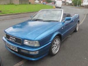 1996 Audi 80 convertable 2.0 litre.