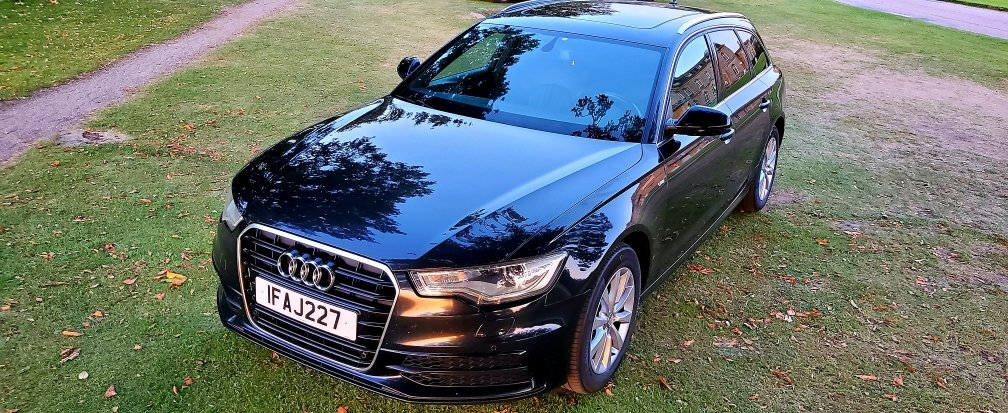 2013 LHD AUDI A6 3.0TDI S-LINE, ESTATE, LEFT HAND DRIVE For Sale (picture 2 of 6)