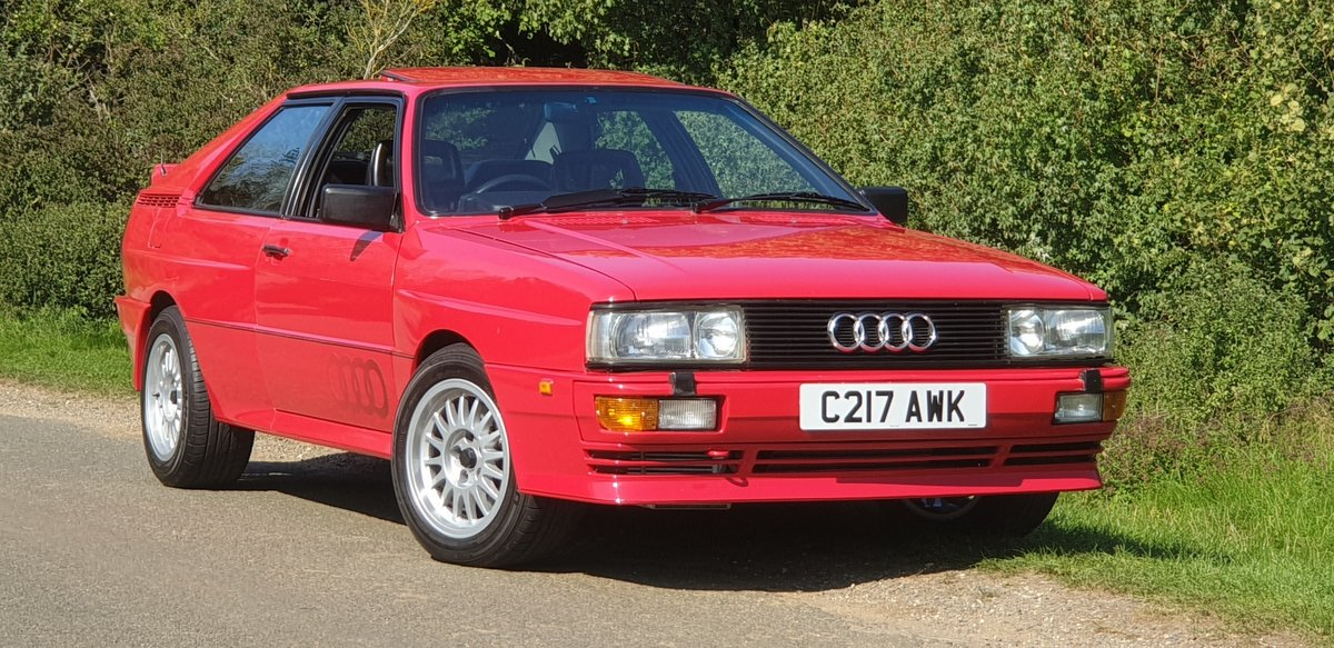 Quattro Turbo.1985.only 82k miles.owned 30 yrs!. SOLD (picture 1 of 6)