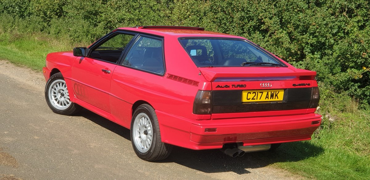 Quattro Turbo.1985.only 82k miles.owned 30 yrs!. SOLD (picture 2 of 6)