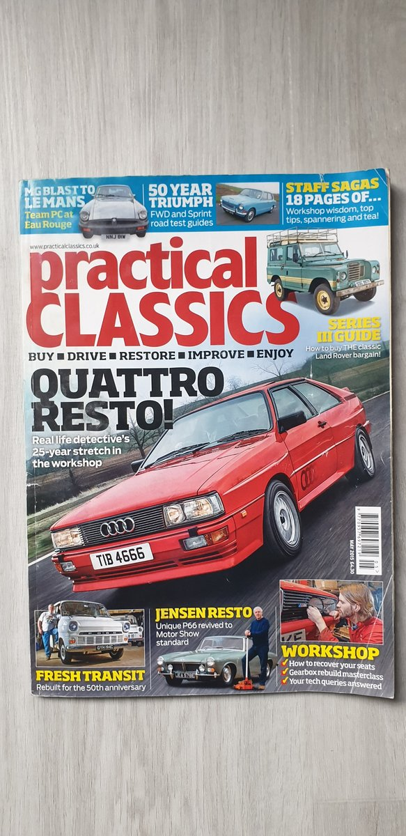 Quattro Turbo.1985.only 82k miles.owned 30 yrs!. SOLD (picture 6 of 6)