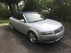 2004 Audi A4 cabriolet for sale