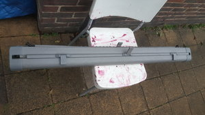 Mercedes w124 Estate Rear Roller Blind and Dog Gua