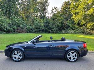 Audi A4 V6 Sport (B6) Convertible.. Only 45k Miles + FSH..