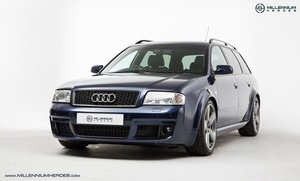 2003 AUDI C5 RS6 QUATTRO AVANT // MUGELLO BLUE // RECENT FULL SER