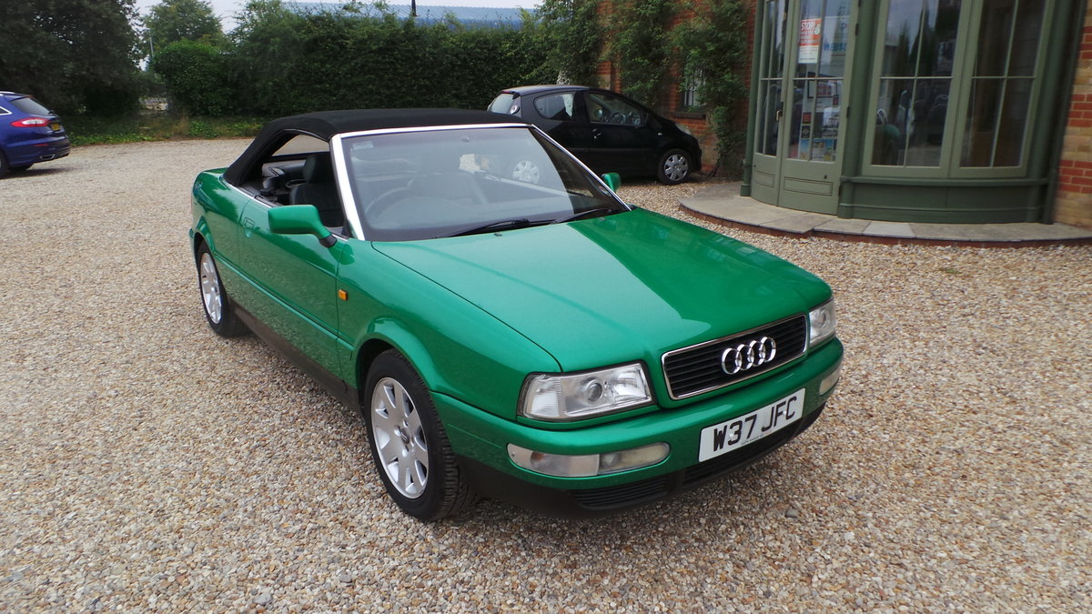 2000 Audi v6 2.6 cabriolet only 47000 miles For Sale (picture 1 of 6)