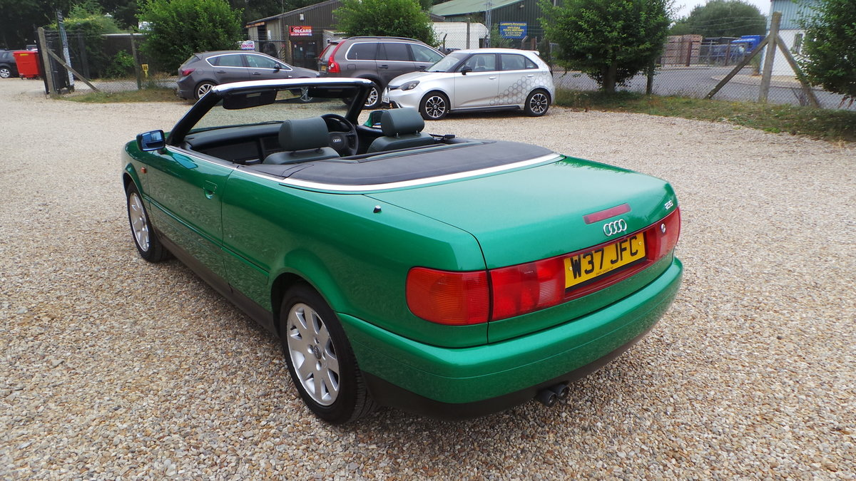 2000 Audi v6 2.6 cabriolet only 47000 miles For Sale (picture 2 of 6)
