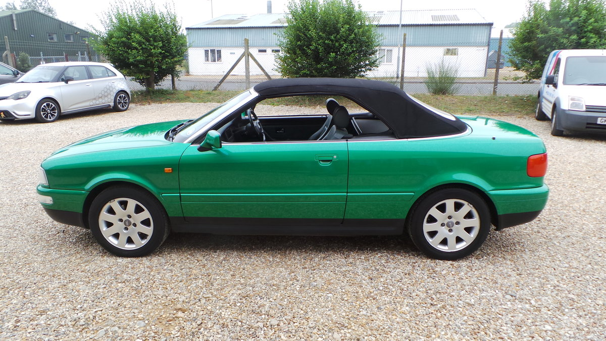 2000 Audi v6 2.6 cabriolet only 47000 miles For Sale (picture 3 of 6)